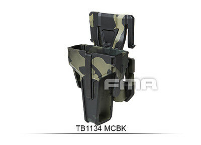 High Quality Multicam Black Pouch For M4/Molle Paintball War Games H1134