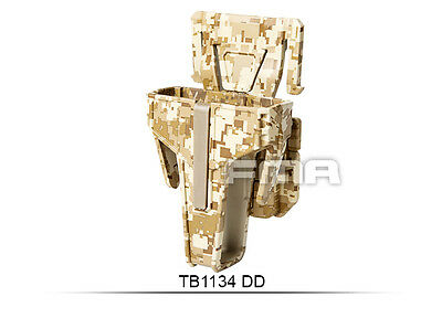 High Quality Digital Desert Pouch For M4/Molle Paintball War Games H1134