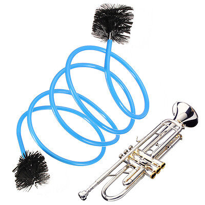Music Metal Trumpet Portable Extension Cleaning Brush For Orchestral Instruments