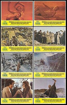 THE BIBLE original 1966 lobby set MICHAEL PARKS/FRANCO NERO 11x14 movie posters