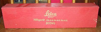 Vintage Leica Accessory Set Mint in Box