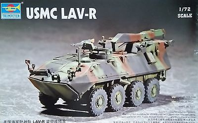 TRUMPETER® 07269  USMC Light Armored Vehicle-Recovery in 1:72