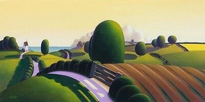 Paul Corfield ' Our Place By The Sea' Mounted Limited Edition Print Sale