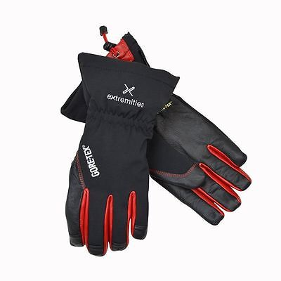 Extremities Glacier Glove GTX Black/Red Large