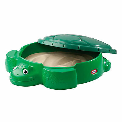 Little Tikes Turtle Sandpit With Lid Sandbox - Collection Only - Brand New Boxed