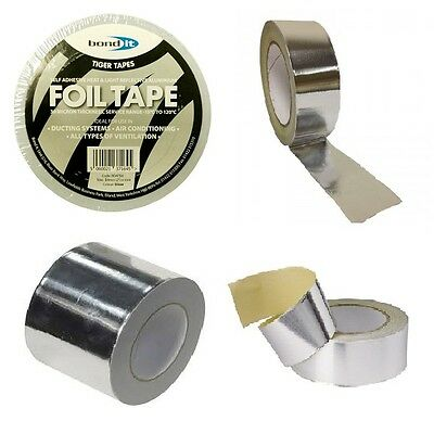 Aluminium Tape Foil Tape Heating Ventalation Air Conditioning Walls Buildings