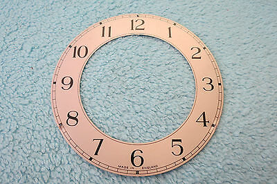 Vintage Enfield Silvered Clock Chapter Ring