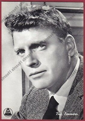 BURT LANCASTER 07 ATTORE ACTOR ACTEUR CINEMA MOVIE USA Cartolina FOTOGRAFICA