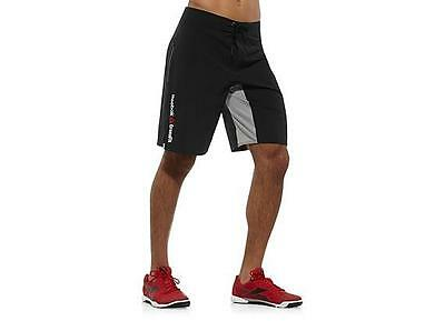 Men's Reebok CrossFit Perf Bosho3C Training Shorts Black Z86618