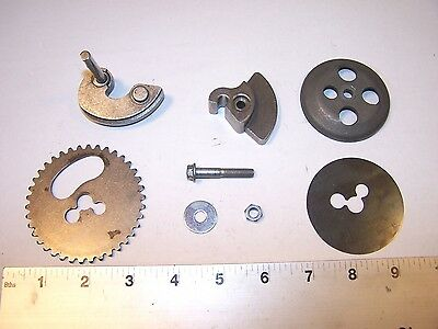 VESPA PIAGGIO GTS250 COUNTER WEIGHT & TIMING GEAR SET 486336 GTS 250 IE LS lm
