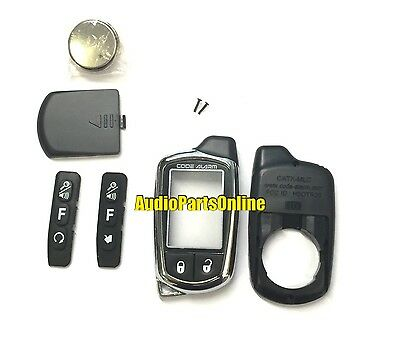 Code Alarm CATXMLC Car Alarm Replacement Remote Transmitter Case w/ Battery New