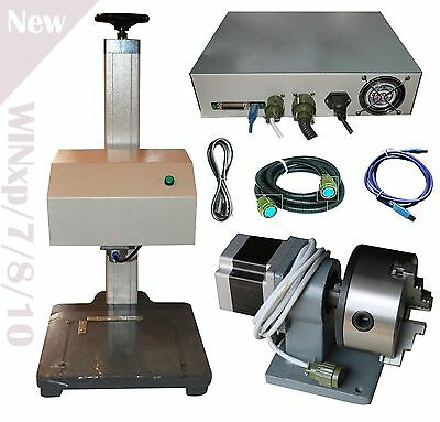 Automatic Pneumatic Marking Engraver Machine With Rotary Tool metal and nonmetal