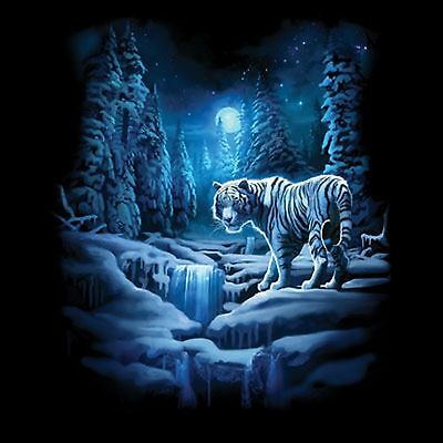 Snow Tiger T Shirt Pick Your Size Youth Small to 6 X Large