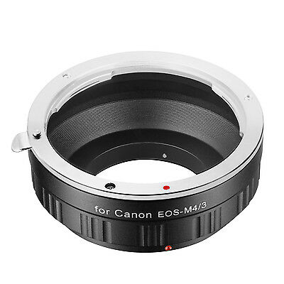 Neewer Lens Adapter for Canon EOS EF Lens to M/43 Micro camera