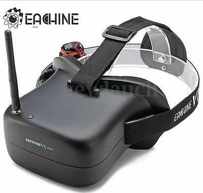 Eachine VR-007 5.8G 3dB 40CH HD FPV Goggles Video Brille mit 1600mAh Batterie