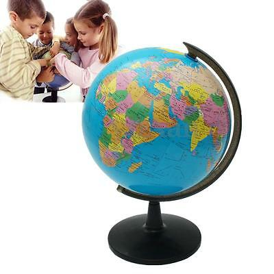 8.5/14/20/25/32cm Rotating World Earth Globe Atlas Map Geography Education Toy