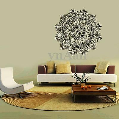Pegatina De Pared Calcomanía Mandala Vinilo PVC Decoración Adhesivo Hogar Bar