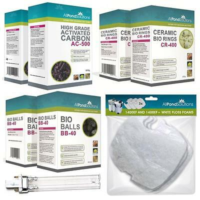 Aquarium Fish Tank External Filter Media Replenishment Kits- All Pond Solutions