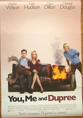 YOU ME AND DUPREE (2006) Original D/S One Sheet Movie poster, Matt Dillon