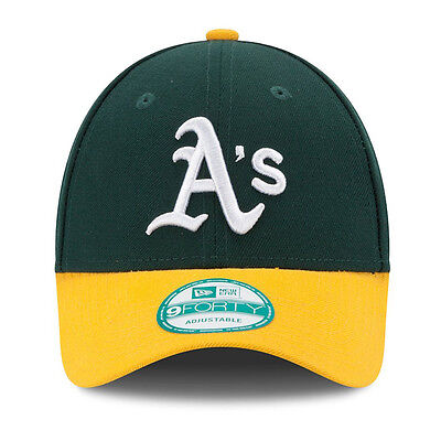 New Era 9forty Oakland Athletics Classic Adjustable Curve Peak Green Hat Cap