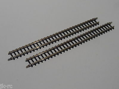2 x New 8500 Marklin Z Gauge 110mm Straight Railway Track Section (Unboxed)