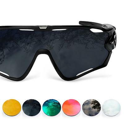 Fit&See Polarized Replacement Lenses for Oakley Jawbreaker ( Choose Color )
