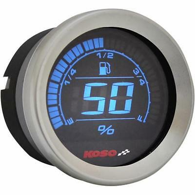 Koso North America - BA050200 - 2in. Fuel Level Gauge, Chrome