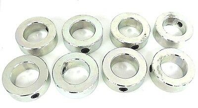 "Lot Of 8 New Climax C-118 Steel Shaft Collars 1-1/4"" Id"
