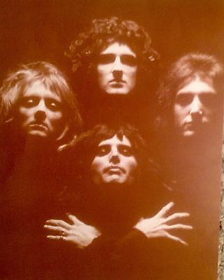 Classic Queen From The 1970's Sepia Poster