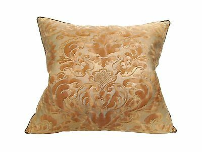 "Fortuny Vintage Pillow in his ""Sevigne"" Pattern, a 17th Century French Design"