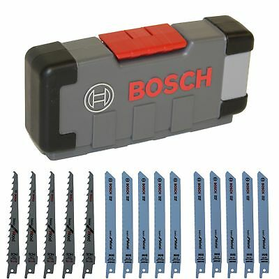 Bosch Säbelsägeblatt-Set in der Tough Box WOOD AND METAL Basic 15-teilig