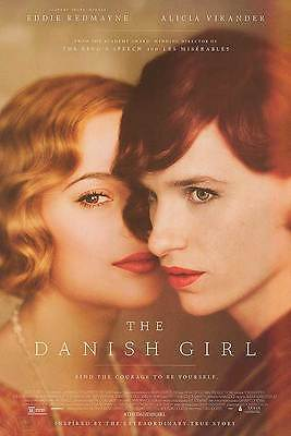 "THE DANISH GIRL ""B"" 27x40 ORIGINAL D/S MOVIE POSTER"