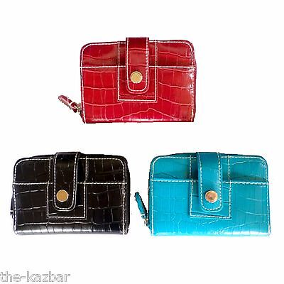 womans girls purse ladies wallet NEW black or red good size great quality