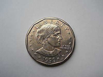 1999-D SBA$1 Susan B. Anthony Dollar