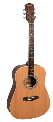 REDDING Dreadnought Acoustic Guitar *NEW* Natureal Gloss Spruce Top