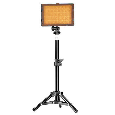 "Neewer 160 LED Video Light 5600K±300k with 32"" Aluminum Alloy Light Stand"