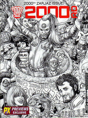 2000AD Prog #2000 - 28 September 2016 - Previews Exclusive - 2nd Print - NEW