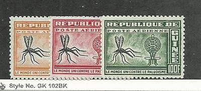 Guinea, Postage Stamp, #C29-C31 NH Mint, 1962