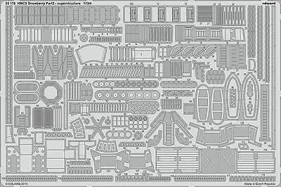 EDUARD 53176 Superstructure Part 2 for Revell® Kit HMCS Snowberry in 1:144
