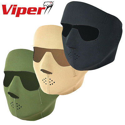 Viper Tactical Special Ops Neoprene Face Mask Airsoft Paintball Balaclava