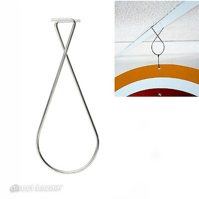 12 x Figure 8 Suspended Ceiling Clips, Hanger
