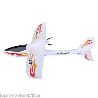 Wltoys RC Helicopter LED SKY-King 2.4G 3CH Aircraft avión 3 channel blanco mando