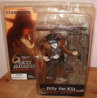 McFarlane Monsters Series 3 Six Faces of Madness Billy the Kid   Figur Ovp