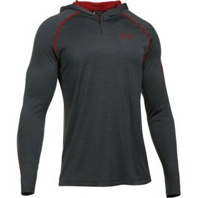 Under Armour 1286069 Men's Carbon Freedom Tech Hoodie - Size Large