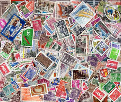 France Stamp Collection - 500 Different Stamps