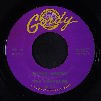 CONTOURS: Shake Sherry / You Better Get In Line 45 Soul