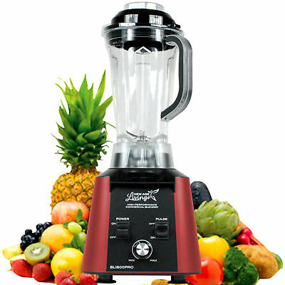 New 3.5Hp High Performance Pro Commercial Fruit Smoothie Blender Juice Mixer .