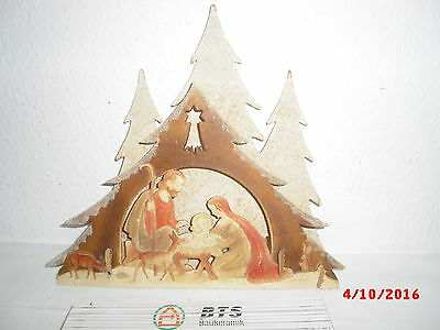 alte Weihnachts Krippe Dresdner Pappe? Oblate Christi Geburt Oblate