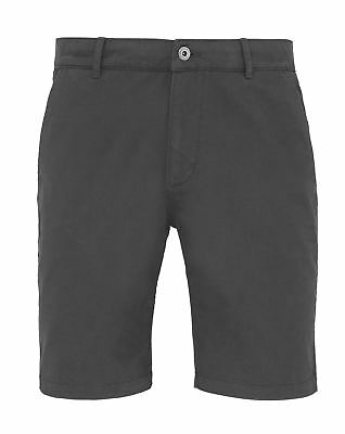Asquith & Fox-Mens Chino shorts two swings pockets and two back jet pockets
