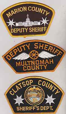 Multnomah & Josephine County OR Sheriff patches